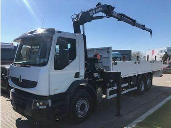 Ciężarówka burtowa Renault PREMIUM LANDER 340 DXI + MKG HLK 141 A3