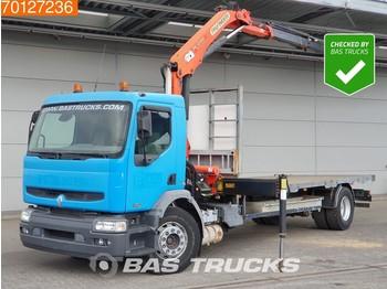 Ciężarówka burtowa Renault Premium 270 4X2 Crane Kran Palfinger PK12000