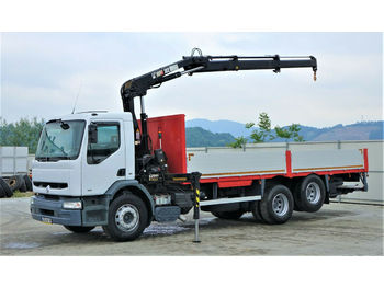 Renault  Premium 300  Pritsche 7,20m+Kran/FUNK  - ciężarówka burtowa