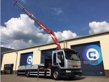 Renault Premium 320 DCI 4x2 MANUAL Gearbox+ HMF 1320 Crane with remote control Nice Truck !! - ciężarówka burtowa