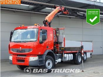 Renault Premium 410.26 6X2 Kran Crane Euro 5 Palfinger PK15002 - ciężarówka burtowa