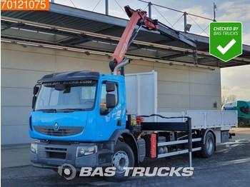 Ciężarówka burtowa Renault Premium Lander 340 4X2 Crane Kran Euro 5 Palfinger PK12002-EH A