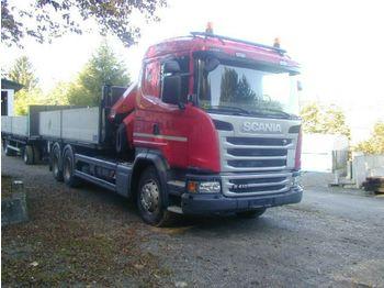 Scania G410  - ciężarówka burtowa