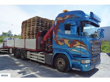 Ciężarówka burtowa Scania G490