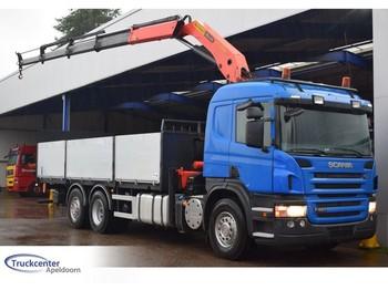 Ciężarówka burtowa Scania P 420, Euro 5, PK 18500 C Palfinger, 6x2, Truckcenter Apeldoorn