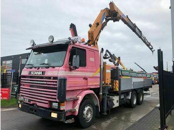 Scania R113 + EFFER 30600 FPI - 6X HYDRAULIC  - ciężarówka burtowa