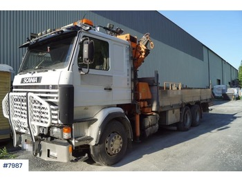 Ciężarówka burtowa Scania R143HL