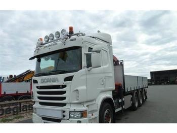 Ciężarówka burtowa Scania R480