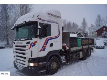 Ciężarówka burtowa Scania R480: zdjęcie 1