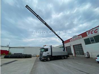 Scania R 440 6x2 PK 23002 SH  - ciężarówka burtowa