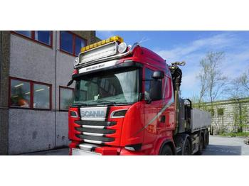 Scania R 620 crane truck Palfinger PK42002 456 CV  - ciężarówka burtowa