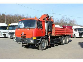 Ciężarówka burtowa Tatra T815 28.270 6X6, RETARDER, HYDR. CRANE EFFER