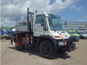 Unimog 405/12 KLIMA AHK Seilwinde Standheizung - ciężarówka burtowa
