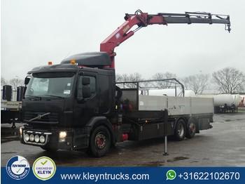 Ciężarówka burtowa Volvo FE 320.26 6x2 hmf k3 radio '03
