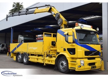 Volvo FE 320 Euro 4, Hiab 166-E4, 6x2, Truckcenter Apeldoorn - ciężarówka burtowa