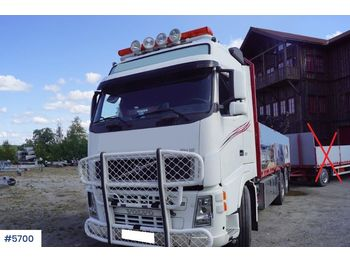 Volvo FH12 - ciężarówka burtowa