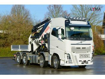 Volvo FH 16-650  FASSI 1650 RA 2.28 - REFERENZ FZG !!!  - ciężarówka burtowa
