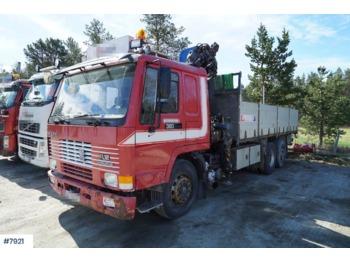 Volvo FL12 380 - ciężarówka burtowa
