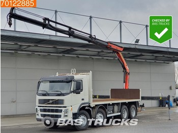 Ciężarówka burtowa Volvo FM12 420 8X4 Kran Crane Palfinger PK16502 Big-Axle