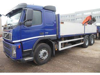 Volvo FM 13/440, 6X4, KRAN PALFINGER 15500  - ciężarówka burtowa