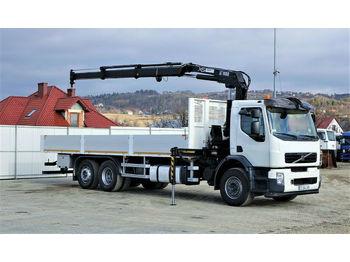 Ciężarówka burtowa Volvo FM 320 Pritsche 8,00m +Kran/FUNK 6x2 Topzustand!
