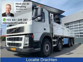 Volvo FM 400 Hiab 130 Kran + Vangmuil  - ciężarówka burtowa
