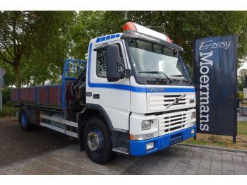 Volvo FM 7 250 Mit Kran  - ciężarówka burtowa