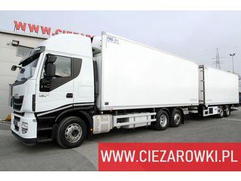 IVECO IVECO WIELTON STRALIS 460 / E6 /Carrier / 18 EPAL + WIELTON 18 EPAL /190k STRALIS 460 / E6 /Carrier / 18 EPAL + WIELTON 18 EPAL /190k PC-2 - ciężarówka chłodnia
