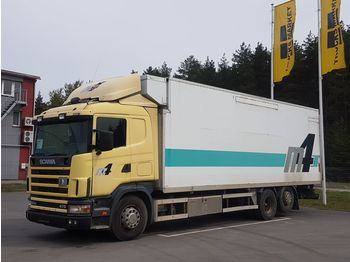 SCANIA R 124 - ciężarówka chłodnia