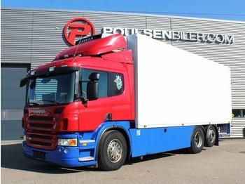 Ciężarówka chłodnia Scania P380 6x2