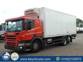 Ciężarówka chłodnia Scania P410 mitsubishi frigo