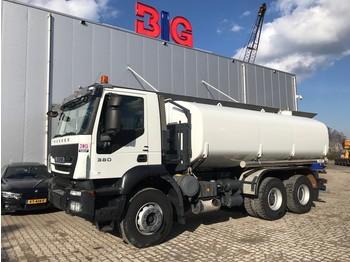 Ciężarówka cysterna Iveco Trakker 380 6x4 water truck Ravasini 20000 L 12TKM only!