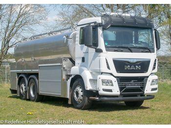 Ciężarówka cysterna MAN TGS 26.480 Milch Jansky Lift.-Lenk E6 TÜV 1/21