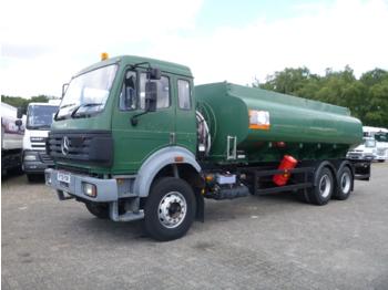 Ciężarówka cysterna Mercedes SK 2527 6x4 RHD fuel tank 14 m3 / 5 comp