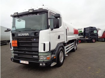 Scania 124G 420 + Manual + 5 comp + pump + 18000 L + PTO - ciężarówka cysterna