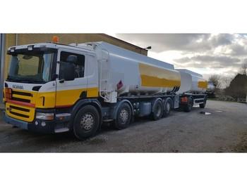 Scania 47000 Liter Tank Petrol Fuel Diesel ADR - ciężarówka cysterna