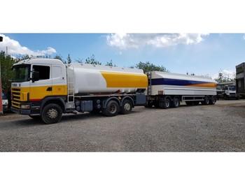 Scania 55000 Liter Tank Petrol Fuel Diesel ADR - ciężarówka cysterna