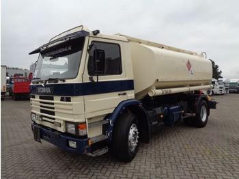 Ciężarówka cysterna Scania 93M 250 + Manual + 4 compartments 14000LITER