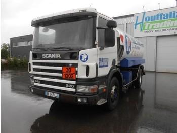 Scania 94D 220 - fuel tank 13000 liters - manual full steel susp - ciężarówka cysterna