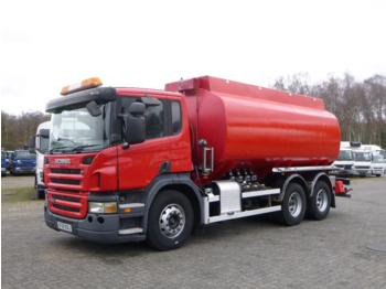 Ciężarówka cysterna Scania P310 6x2 RHD fuel tank 20.9 m3 / 4 comp
