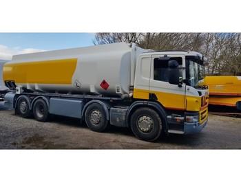 Scania P 380 8x2/6 25000 Liter tank Petrol Fuel Diesel - ciężarówka cysterna