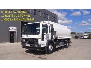 Volvo 6 X FL 6 - 19 (19 TONNES / 10 BOLTS / 14000 L / MANUAL PUMP) - ciężarówka cysterna