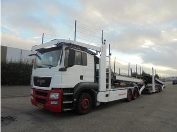 Ciężarówka do przewozu samochodów MAN TGS 18-360