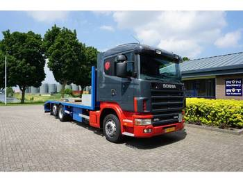 Scania 114 L 380 - ciężarówka do przewozu samochodów
