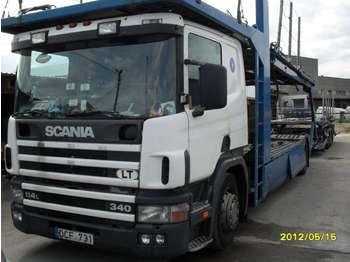 Scania P114LB  - ciężarówka do przewozu samochodów