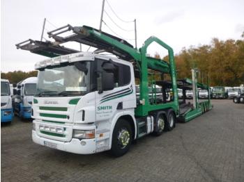 Scania P420 6x2 RHD Lohr car transporter - ciężarówka do przewozu samochodów