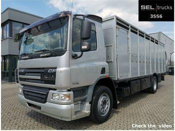 DAF CF 75.360 / 1 Stock / German  - ciężarówka do przewozu zwierząt