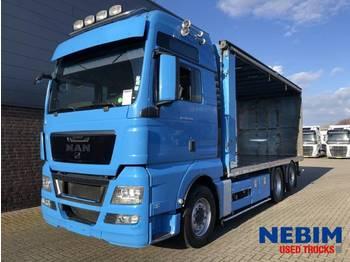 MAN TGX 26 440 Euro 5 - POULTRY TRANSPORT - ciężarówka do przewozu zwierząt