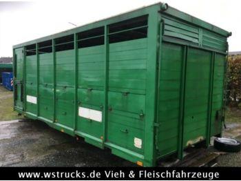 Ciężarówka do przewozu zwierząt Menke 1 Stock Aufbau