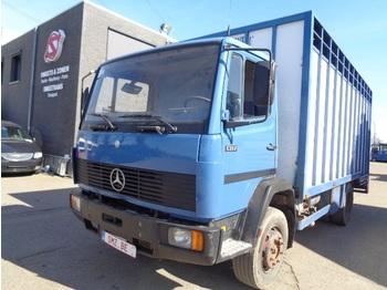Ciężarówka do przewozu zwierząt Mercedes-Benz 1317 lames/Steel
